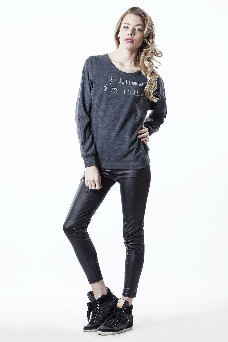gblouse I'm cute - CONCRETE blonde #flowear #fashion ✻ www.flowear.org