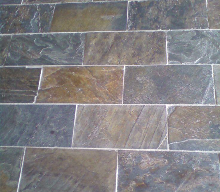Blue Gray Floor Tiles