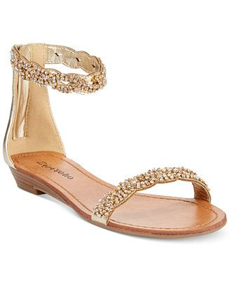 ZiGi Soho Meline Jeweled Flat Sandals why can't they make cute sandals in larger sizes?