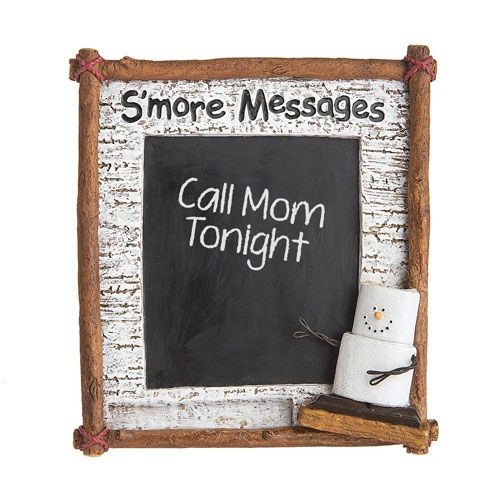 S'mores Original Midwest CBK S'more Messages Chalk board.