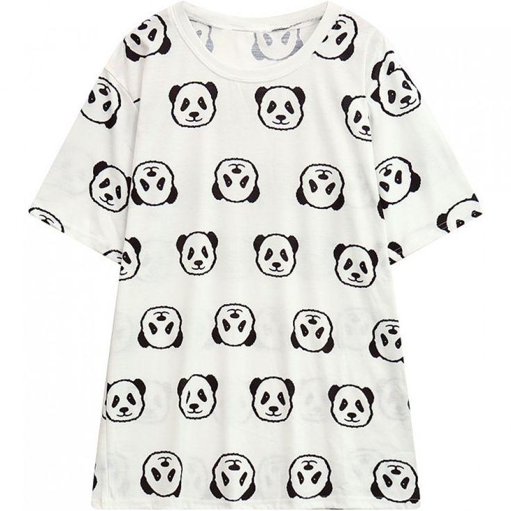 Harajuku Panda T-Shirt  #Panda #PandaTShirt #fashion #Kawaii #Harajuku