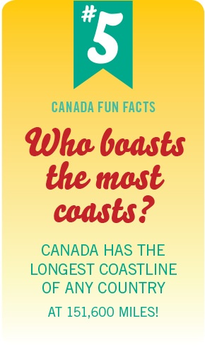 Canada Fun Fact No. 5 by #PinUpLive