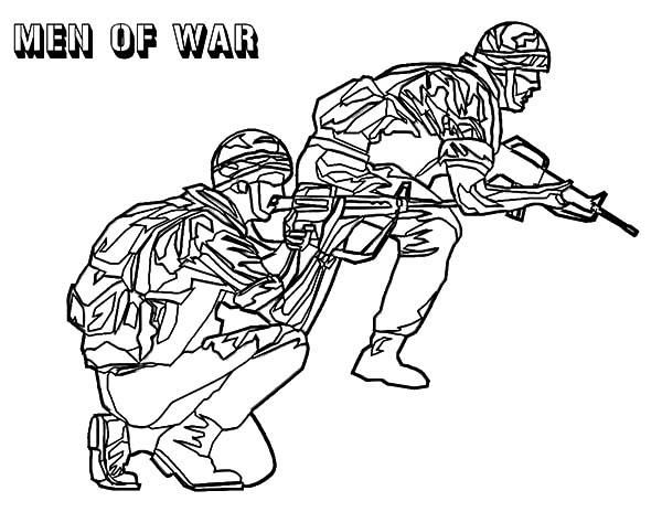 Men Of War Army Coloring Pages Man Of War Coloring Pages Giraffe Coloring Pages