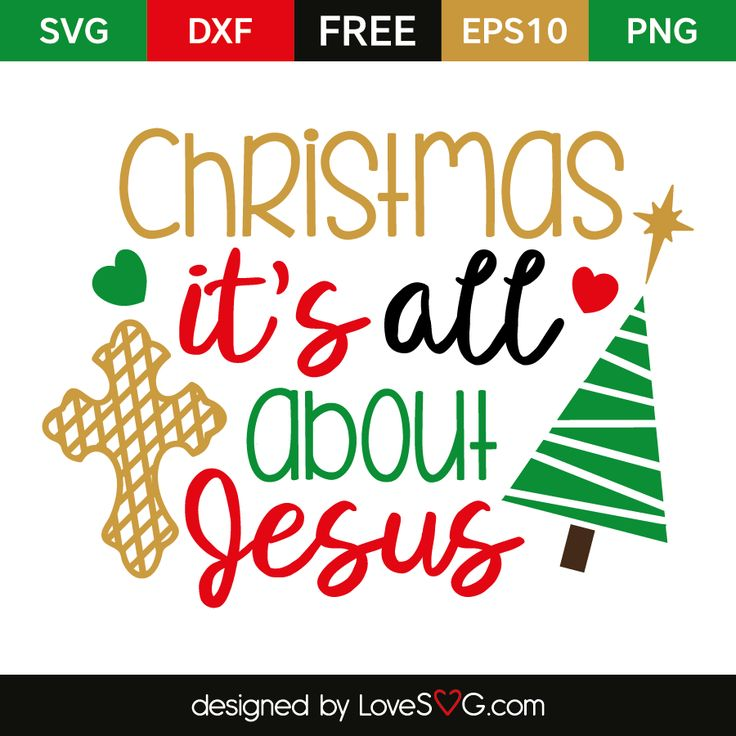 Download Christmas it's all about Jesus | Christmas svg, Cricut