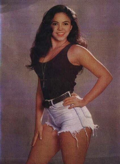 Shakira in the 90s