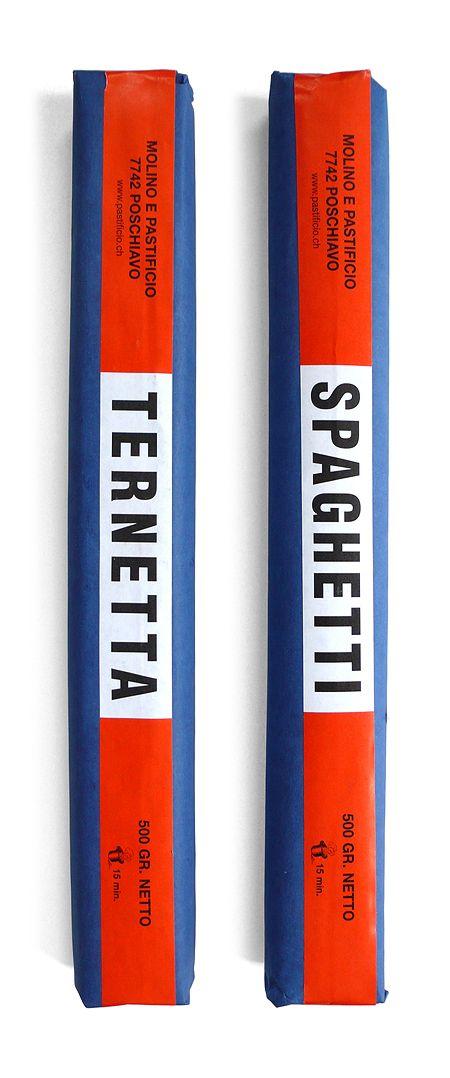 Pastificio Ternetta Spaghetti Packaging