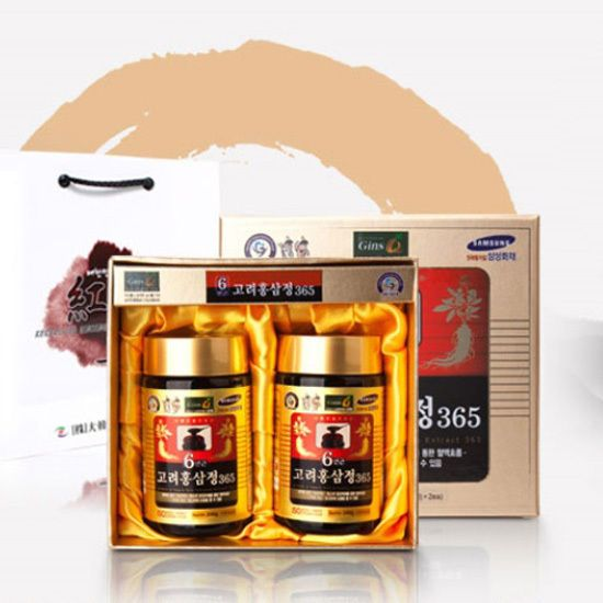 Korean 6Years Red Ginseng Extract 365 240g x 2ea Anti Stress Fatigue Health Food #KoreanGinsengKFoodKPOP