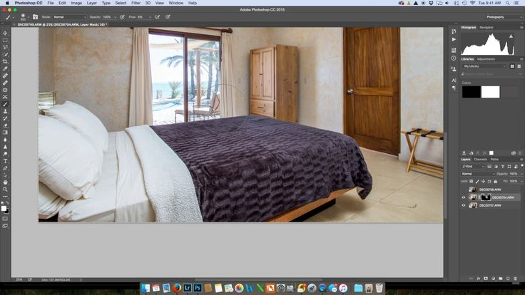 Wrinkle Removal with Gaussian Blur