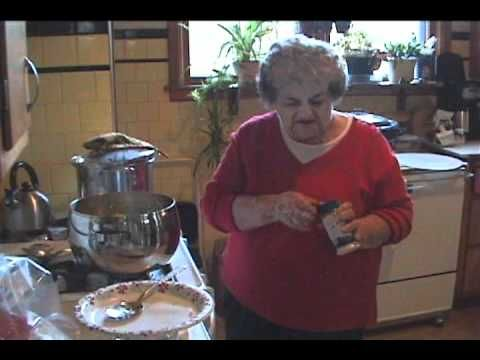 Cooking Kapusta (Polish Cabbage Dish)  Love this woman!! It's like watching my Mom in the kitchen.