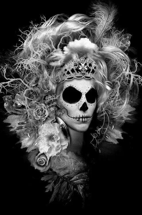 day of the dead woman. Obery Nicolas