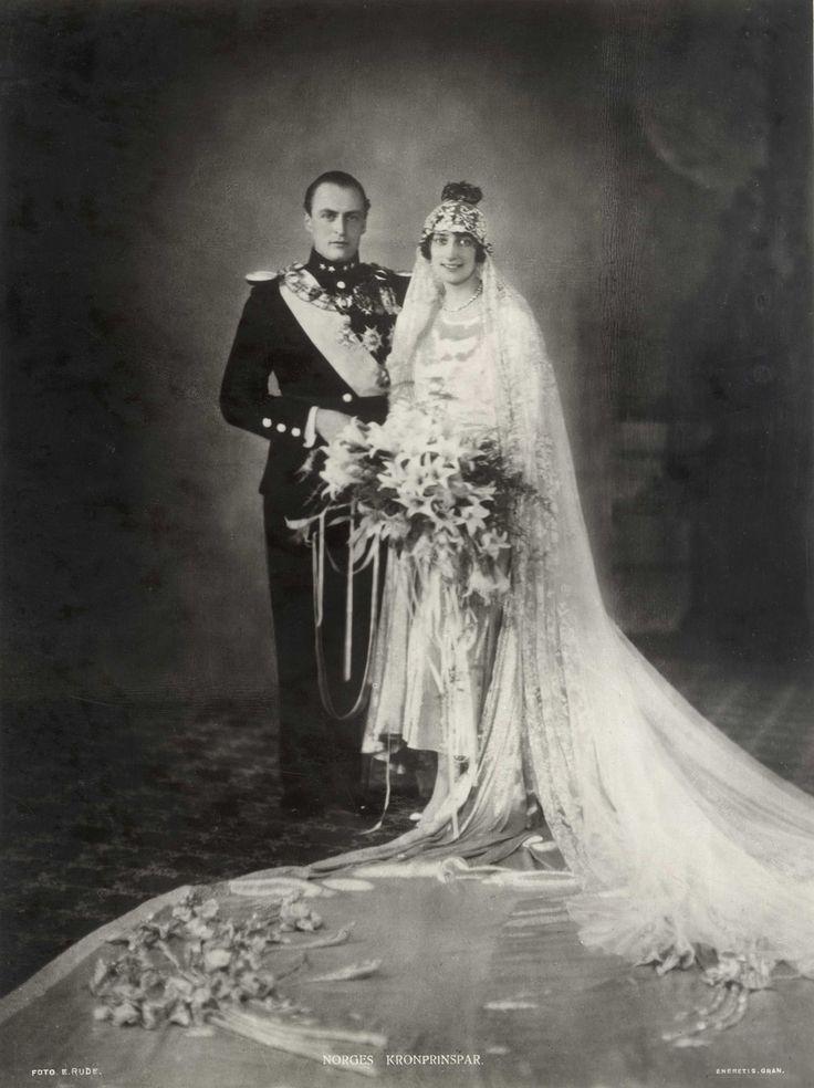 Norges Kronprinspar | Ernest Rude| Oslo Museum | CC BY-SA