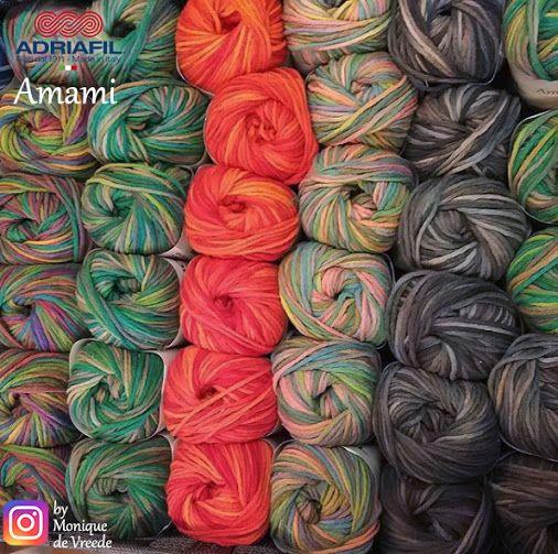 Un arcobaleno di colori.. cosa realizzeresti con #Amami Adriafil? http://bit.ly/AdriafilAmami  Pic by Monique De Vreede