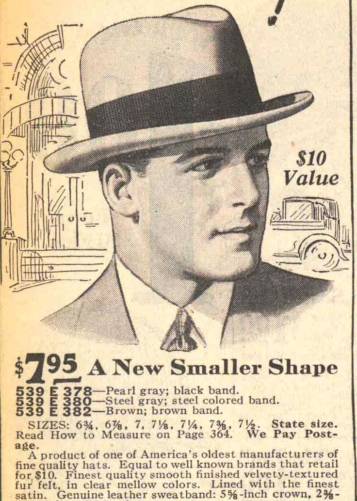 Popular 1920s Mens Hats Revisited: From the Flat Cap  & Bowler to Fedora