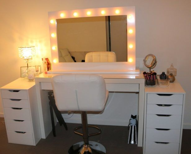 Bedroom:Awesome Makeup Vanity Set Ikea Makeup Vanity Set Ikea Also Lights Ikea Photo Of Set Gallery