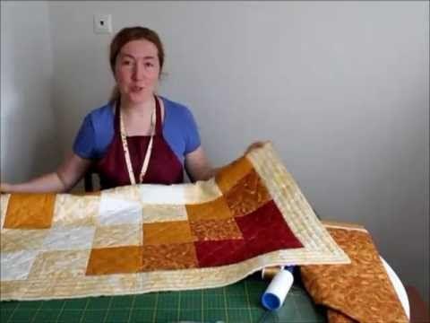 06. Лоскутное шитье. Завершение одеяла