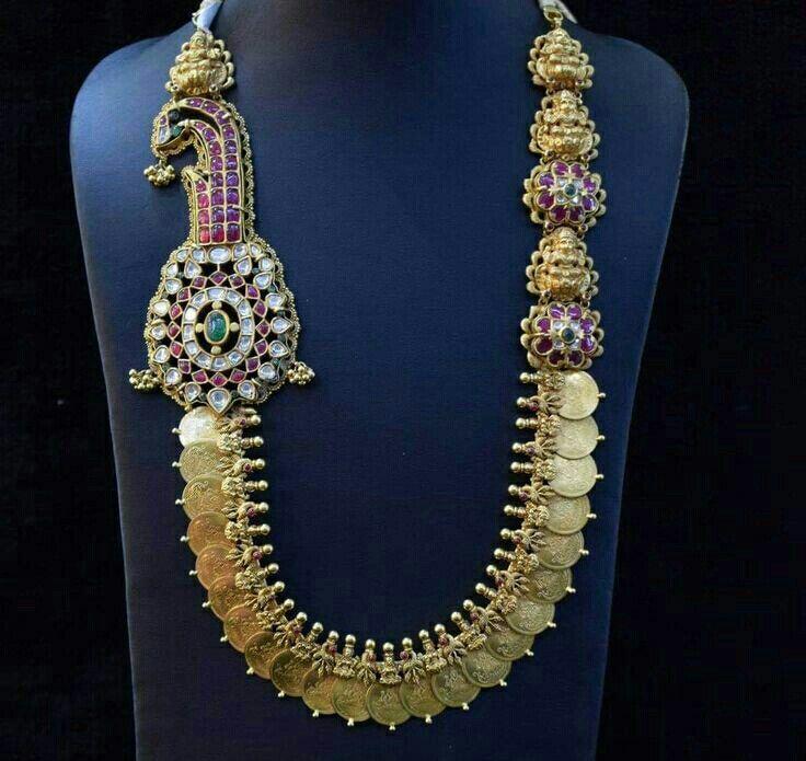 Pin on Kasu,mango & Indian traditional jewellery