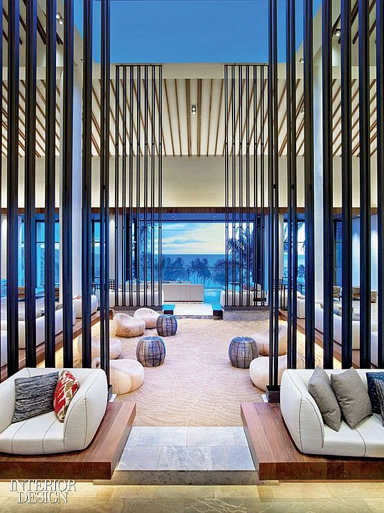 21 best hotel interiors images on pinterest hotel for Beach bach designs