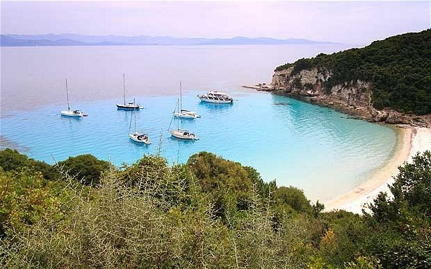 Secret seaside: Voutoumi Beach, Anti Paxos, Greece. This article explains the eating options on the island