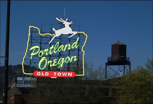 We've been in Portland in 2011