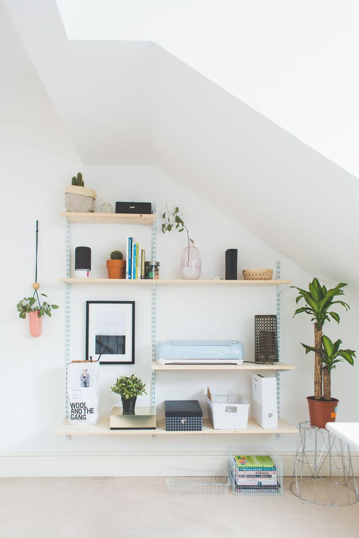 how to build a shelving unit out of wood
