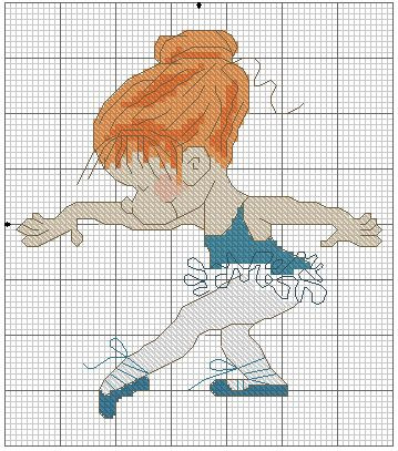 Points de croix *@* cross stitch Samples 12