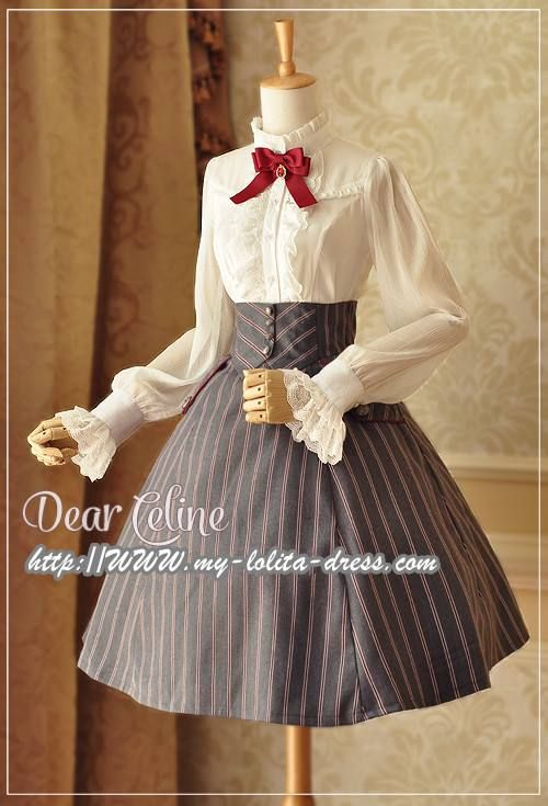 The last time reminder: Dear Celine ❤~Autumn Academy~❤ Series Pre-order ★WILL END IN ABOUT 6 HOURS LATER★ >>> http://www.my-lolita-dress.com/newly-added-lolita-items-this-week/dear-celine-autumn-academy-lolita-op-coat-skirt-and-blouse