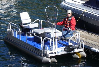 17 best images about mini pontoon boats on pinterest for Personal fishing boat