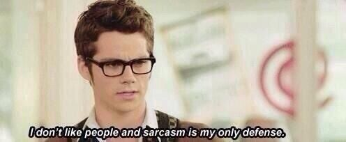 Fact that Dylan O'Brien is the one describing my life makes this quote 100000 times better