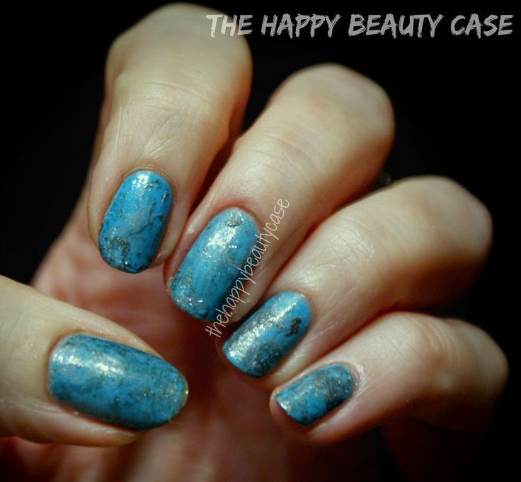 The Happy Beauty Case: [Birthstone Challenge] #12 December: Barry M Turquoise (Faux-stone)