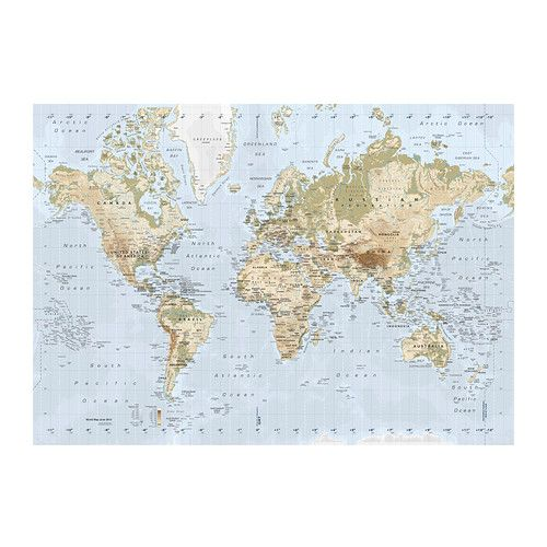 Best  Giant World Map Ideas On Pinterest Chesterfield Lounge - Ikea us map