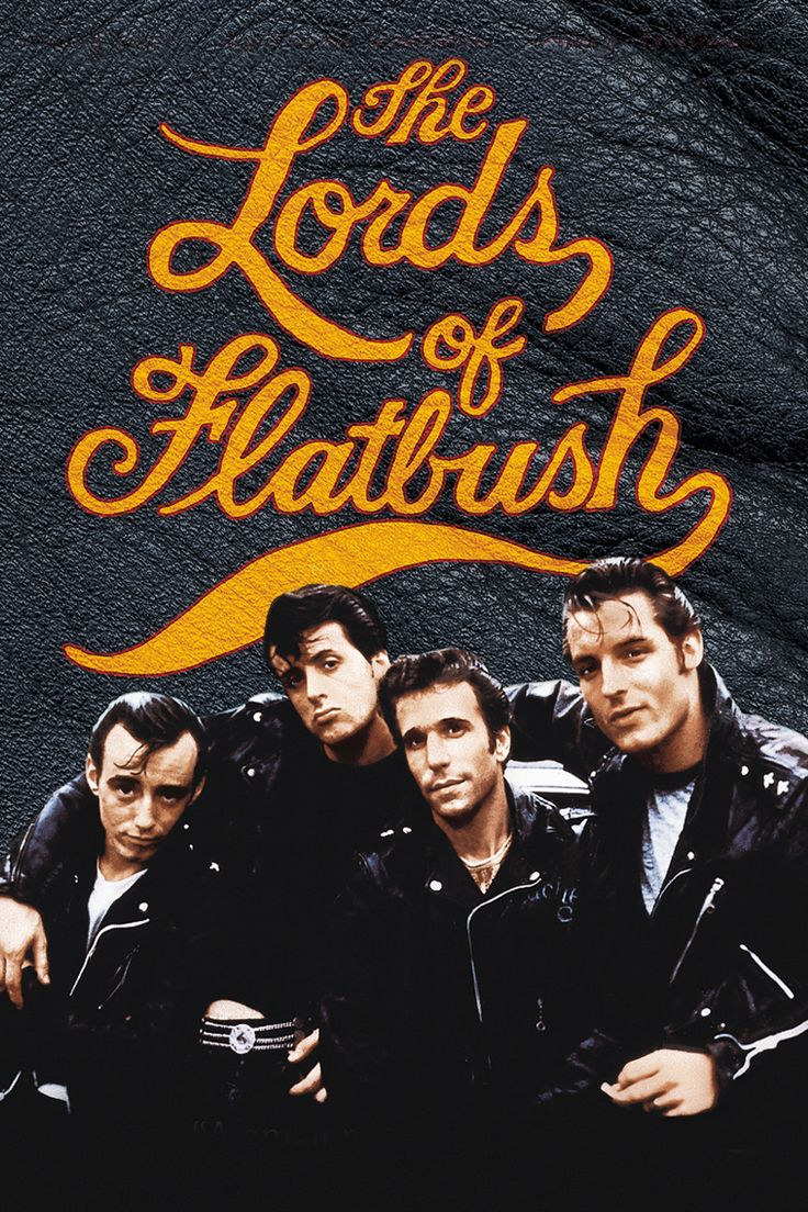 The Lords of Flatbush (1974) - starring Fonzie (Henry Winkler) and Sylvester Stallone