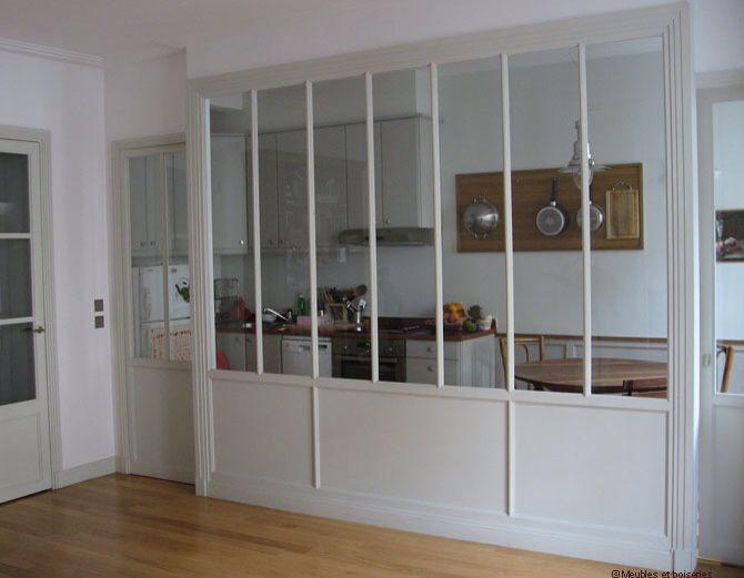 Aménagement intérieur- Cloisons - Verrières intérieures - Pièces aveugles -Glass wall - Room divider - Partition - Windowless room...