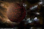 NASA says there is compelling evidence for the mystery huge 'Planet X' Nibiru lurking on the edge of the solar system.