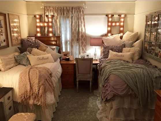 fancy deluxe college apartment bedroom trend decorating ideas   7233 best images about [Dorm Room] Trends on Pinterest ...