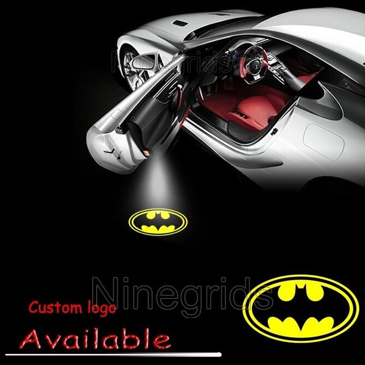 Car Door LED Logo for Batman Welcome Light Ghost Shadow Projector Laser Courtesy #Ninegrids