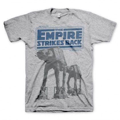 Star Wars Empire Strikes Back AT-AT T-Paita - AlphaGeek