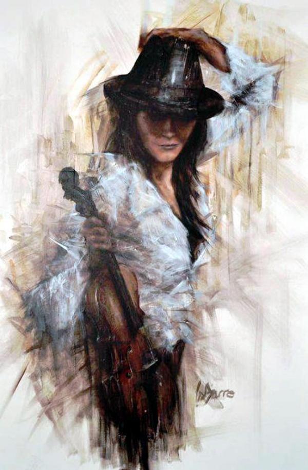 Remi LaBarre  - Portrait Paintings by Rémi LaBarre  <3 !
