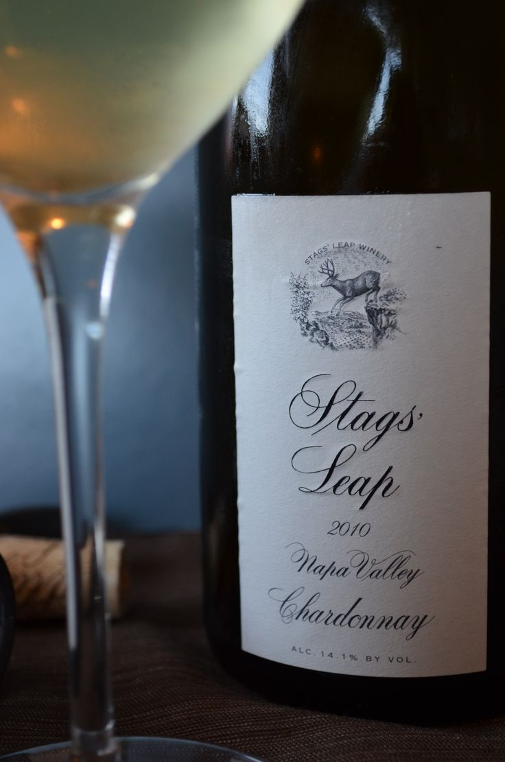 One of Napa's best, Stags Leap, Chardonnay