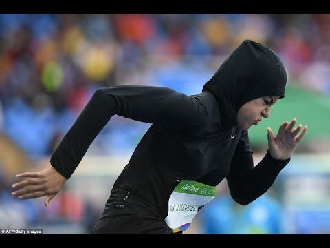 Rio 2016 sprinter Kariman Abuljadayel is first Saudi woman to compete in 100m