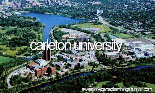 Carleton University - my home