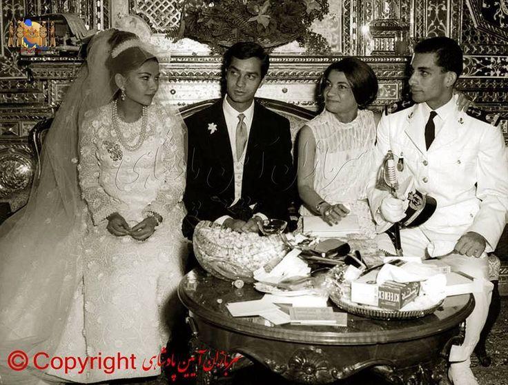 Ashraf Pahlavi and sons