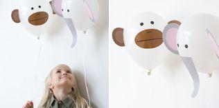 Flygende aper og elefanter - http://www.dansukker.no/no/inspirasjon/barneselskap/jungelbursdag/aktiviteter-og-leker.aspx #barneselskap #lek