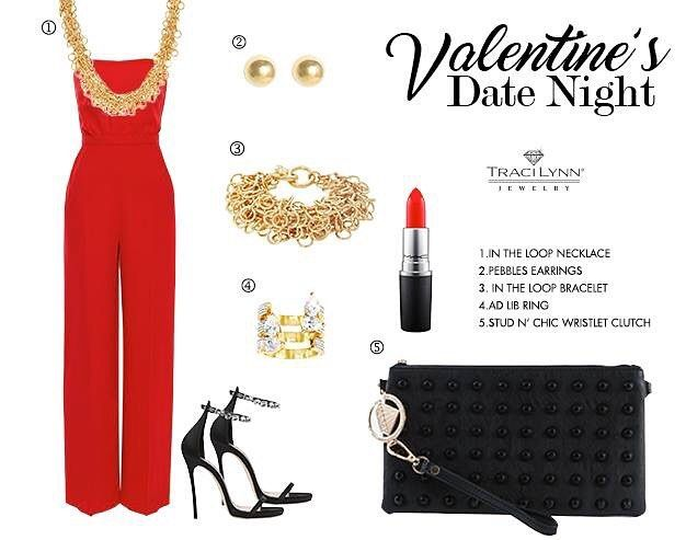 Make a lasting impression in spotlight-stealing accessories this Valentine's Day. #TraciLynnJewelry #fashionjewelry  #treasuredcosmojewels #valentinesdate #twitter