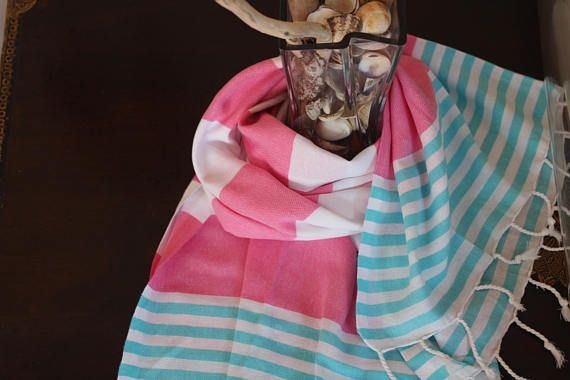 Hey, I found this really awesome Etsy listing at https://www.etsy.com/listing/543551009/turkish100cottonpinktowelbeachtravelvery