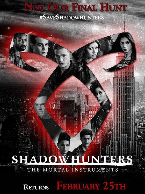 Shadowhunters ähnliche Serien
