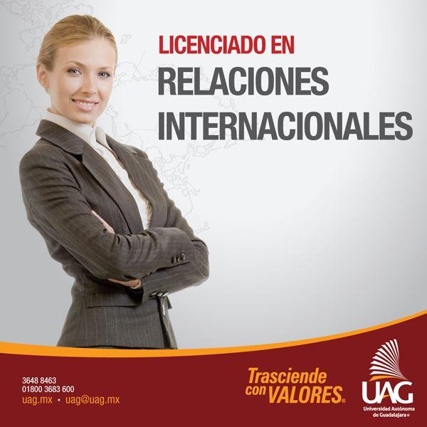Como Licenciado en Relaciones Internacionales podrás desempeñarte en dependencias gubernamentales como las Secretarías de Relaciones Exteriores, Economía, Educación y Cultura, entre otras.