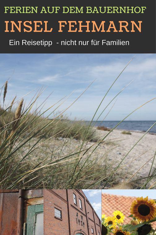 Urlaub auf dem Bauernhof auf der Insel Fehmarn unweit der Ostsee: Reisetipp für den Familienurlaub. Mit Kindern ist die Reise auf den Bauernhof einfach wunderbar.