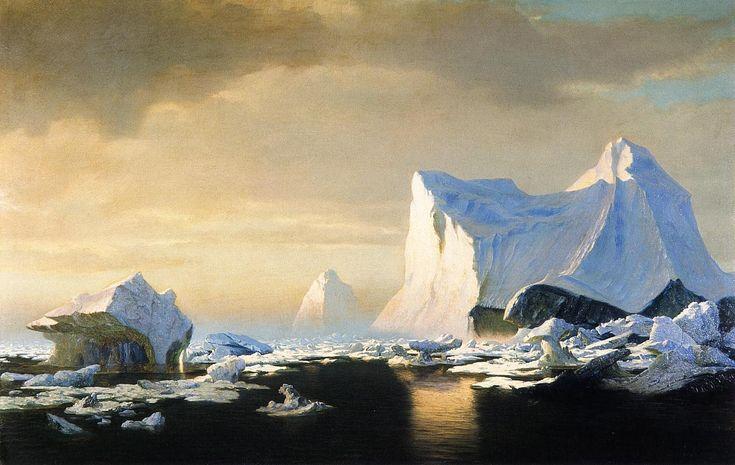 Icebergs in the Arctic William Bradford (1882)