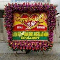bunga papan pernikahan SW.01