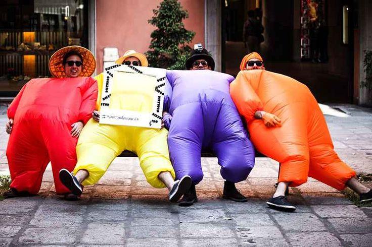 Una pazzesca ed esilarante maratona fotografica all'insegna del divertimento Se non avete nulla da fare questo weekend vi consiglio di dare un occhio a questa bellissima maratona fotografica che si svolgerà Sabato 13 Maggio a Bologna e che si ripeterà nel corso dell'anno in t #fotografia #maratona #bologna